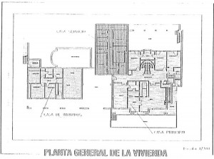 Plans for Villa Southwell for sale in the south of Spain