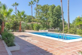 Swimming Pool at Villa Amandos near Alhaurin El Grande in Malaga