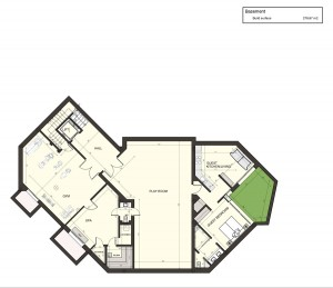 Layout Basement Level