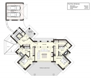 Layout Upper Floor